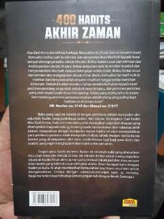 Buku 400 Hadits Akhir Zaman Cover 2