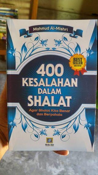 Buku 400 Kesalahan Dalam Shalat cover