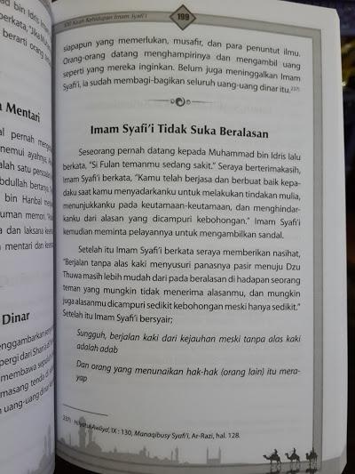 Buku 400 Kisah Hidup Imam Empat Madzhab Isi