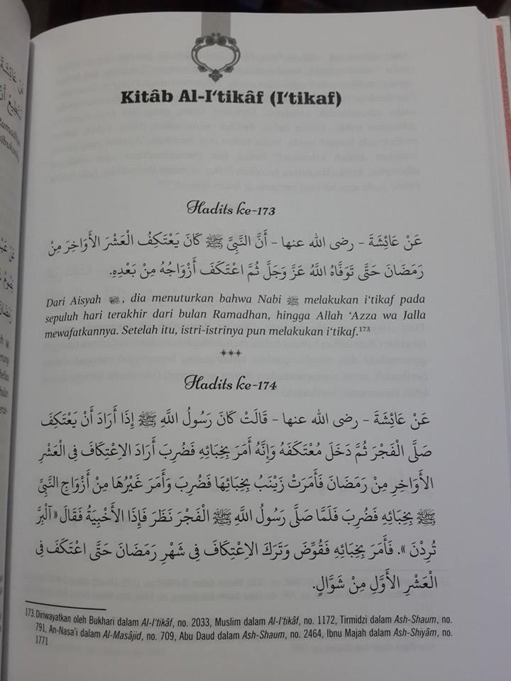 Buku 408 Hadits Pilihan Kutubus Sittah Isi