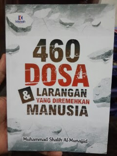 Buku 460 Dosa Dan Larangan Yang Diremehkan Manusia Cover