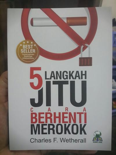Buku 5 Langkah Jitu Cara Berhenti Merokok Cover