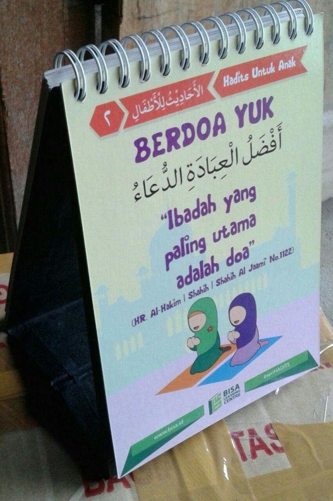Buku Poster Kalender 50 Hadits Pilihan Untuk Anak Seri 1 isi 2