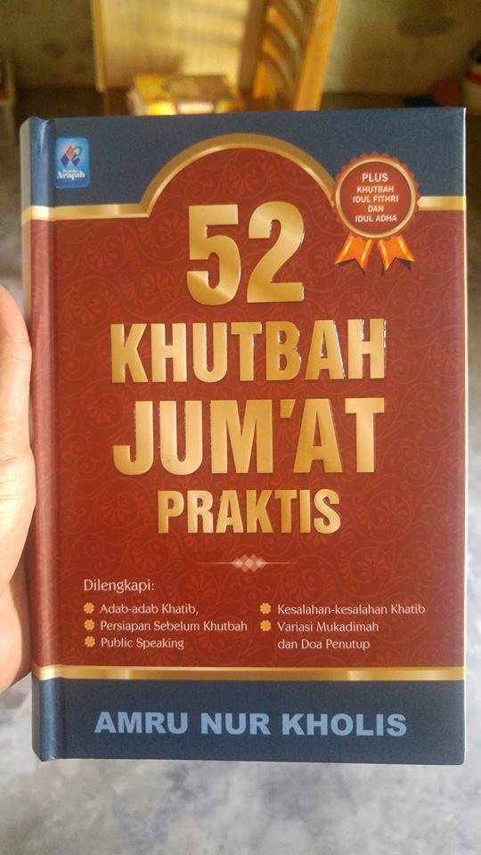 Buku 52 Khutbah Jum'at Praktis cover