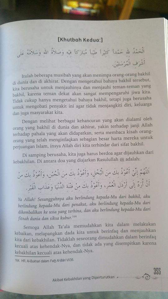 Buku 52 Khutbah Jum'at Praktis isi