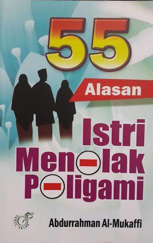 Buku 55 Alasan Istri Menolak Poligami Cover