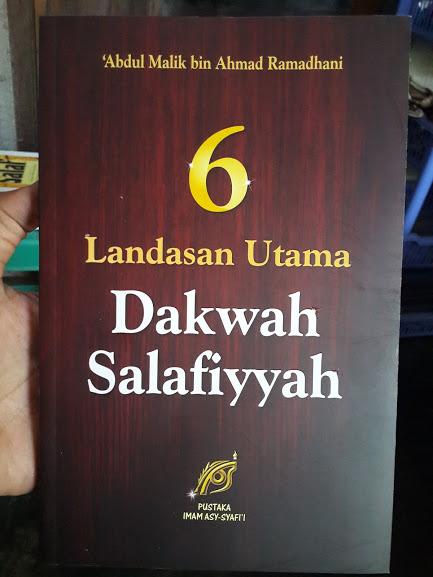 Buku 6 Landasan Utama Dakwah Salafiyyah Cover