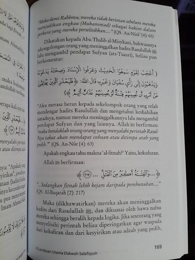 Buku 6 Landasan Utama Dakwah Salafiyyah Isi