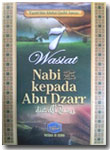 Buku 7 Wasiat Nabi Kepada Abu Dzar radhiyallahu 'anhu