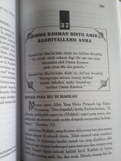 Buku 70 Tokoh Wanita Dalam Kehidupan Rasulullah Isi