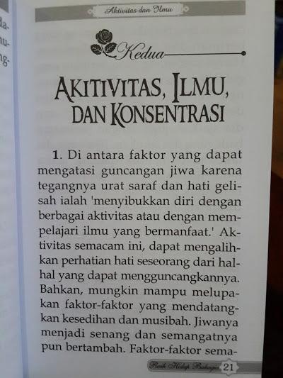 Buku Saku 8 Nasihat Berharga Meraih Hidup Bahagia Isi
