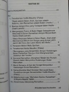 Buku 89 Kesalahan Seputar Puasa Ramadhan Daftar Isi