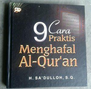 Buku 9 Cara Praktis Menghafal Al-Qur'an cover 2