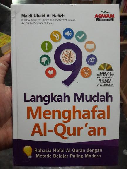 Buku 9 Langkah Mudah Menghafal Al-Qur'an Cover