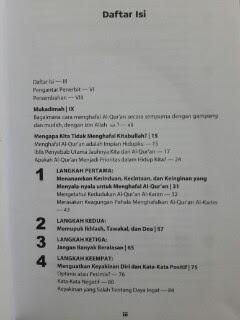 Buku 9 Langkah Mudah Menghafal Al-Qur'an Daftar Isi