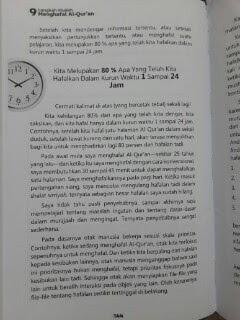 Buku 9 Langkah Mudah Menghafal Al-Qur'an Isi