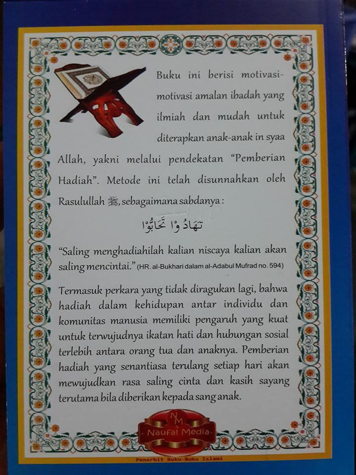 Buku Abi Umi Berilah Aku Hadiah cover 2