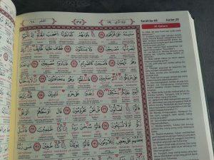 Al-Quran Mushaf Tajwid Kode Transliterasi Terjemah Per Kata isi 2