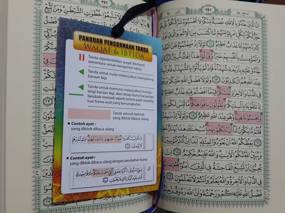 Al-Quran Dilengkapi Waqaf Dan Ibtida isi 2