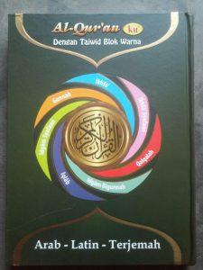 Alquran Mushaf Arab Latin Terjemah (Ukuran Besar) cover 2