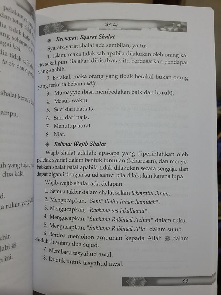 Intisari penjelasan rukun Islam buku isi