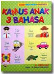 Buku Kamus Anak 3 Bahasa Arab Indonesia Inggris