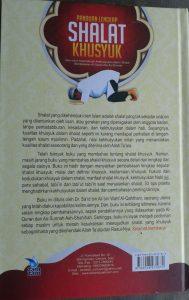 Buku Panduan Lengkap Shalat Khusyuk Menurut Qur'an & Sunnah cover