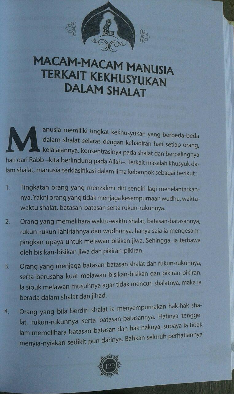 Buku Panduan Lengkap Shalat Khusyuk Menurut Qur'an & Sunnah isi 3