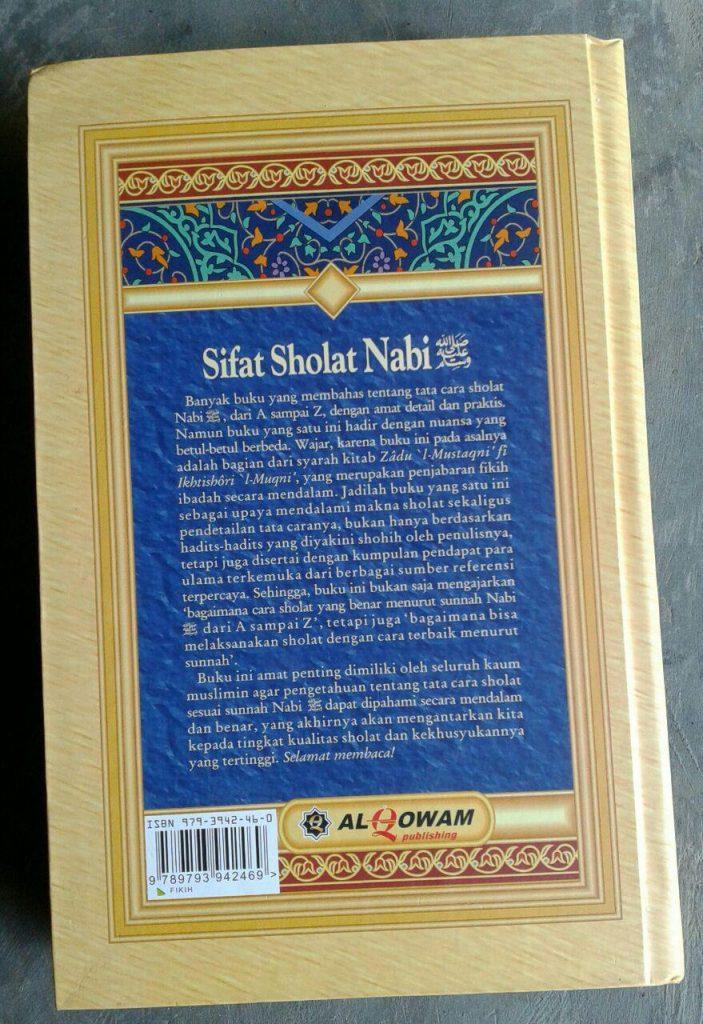 Buku Sifat Shalat Nabi cover 2