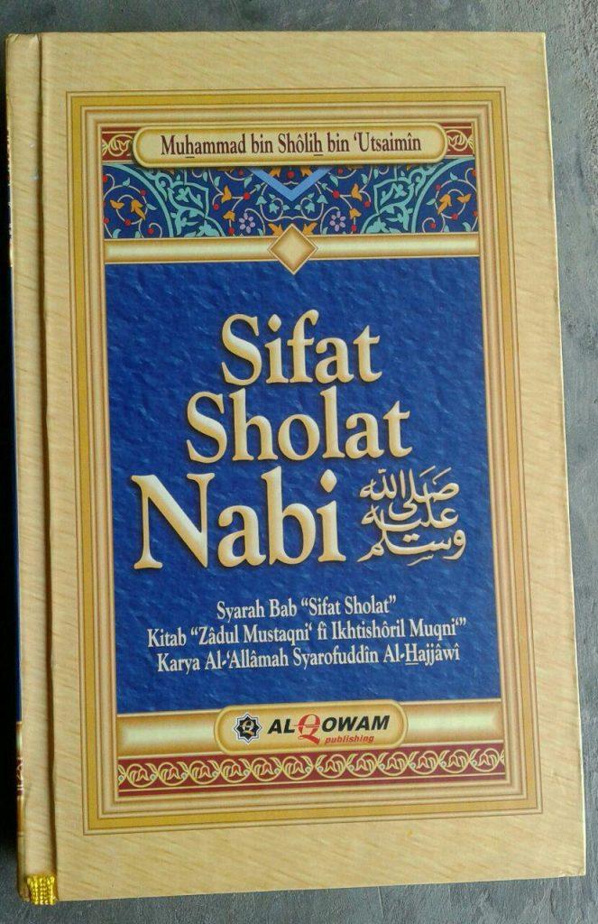Buku Sifat Shalat Nabi cover