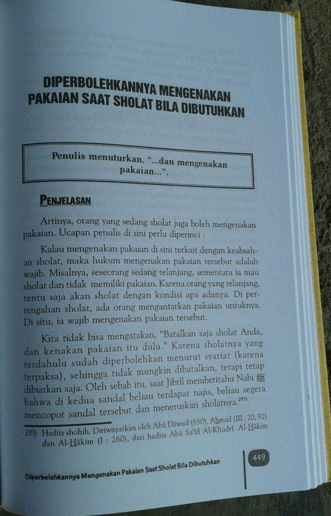 Buku Sifat Shalat Nabi isi 2