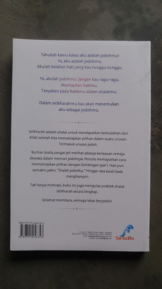 Buku Temukan Aku Dalam Istikharahmu cover 2