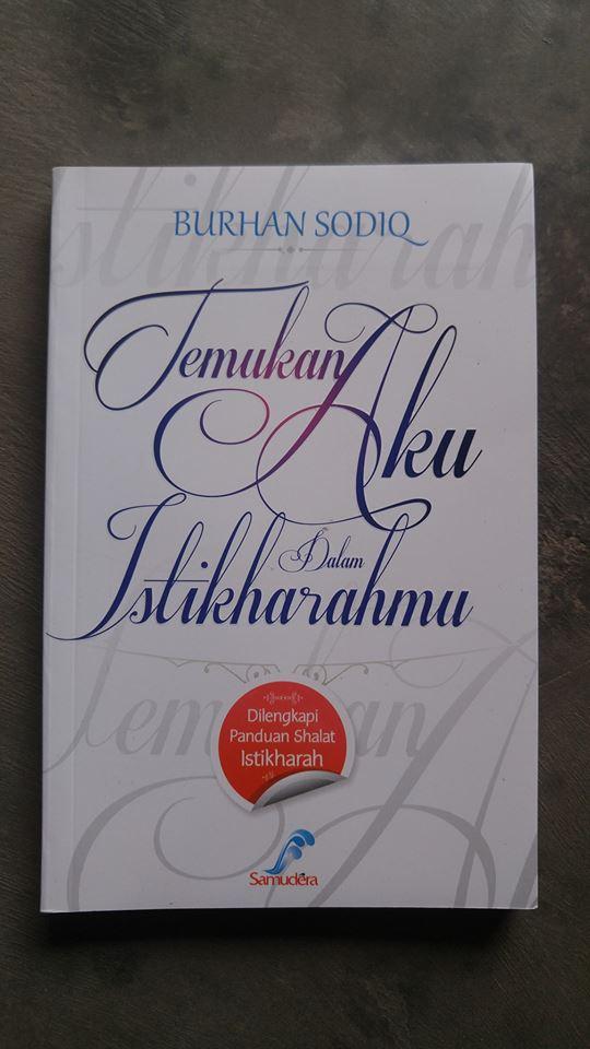 Buku Temukan Aku Dalam Istikharahmu cover