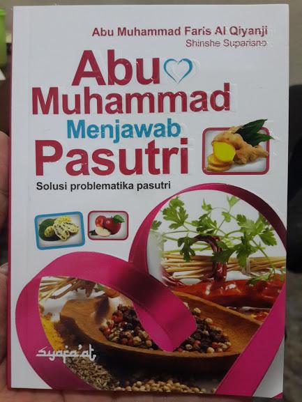 Buku Abu Muhammad Menjawab Solusi Problematika Pasutri Cover