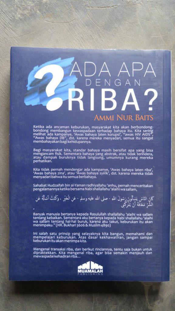 Buku Ada Apa Dengan Riba cover 2