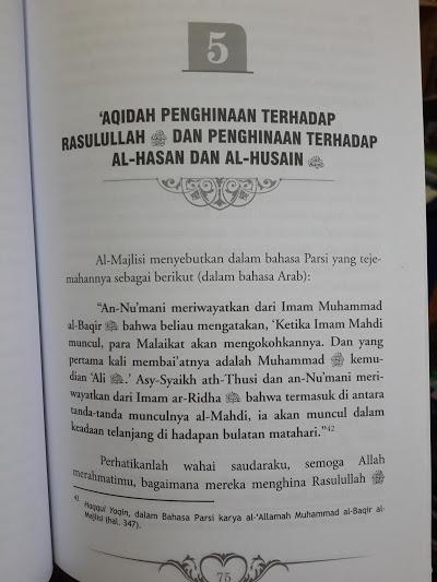 Buku Ada Apa Dengan Syi'ah Isi