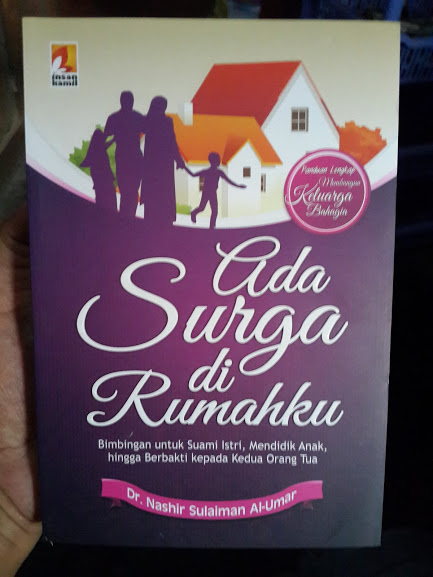 Buku Ada Surga Di Rumahku Cover