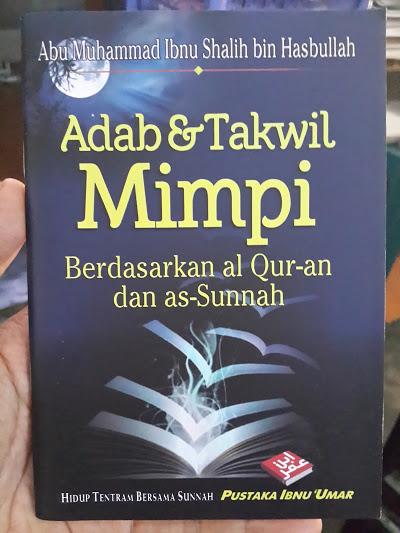 Buku Saku Adab Dan Takwil Mimpi Cover