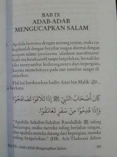 Buku Adab Harian Muslim Teladan Isi