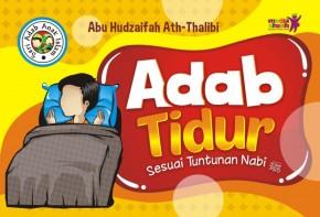 Buku Anak Adab Tidur Sesuai Tuntunan Nabi Cover