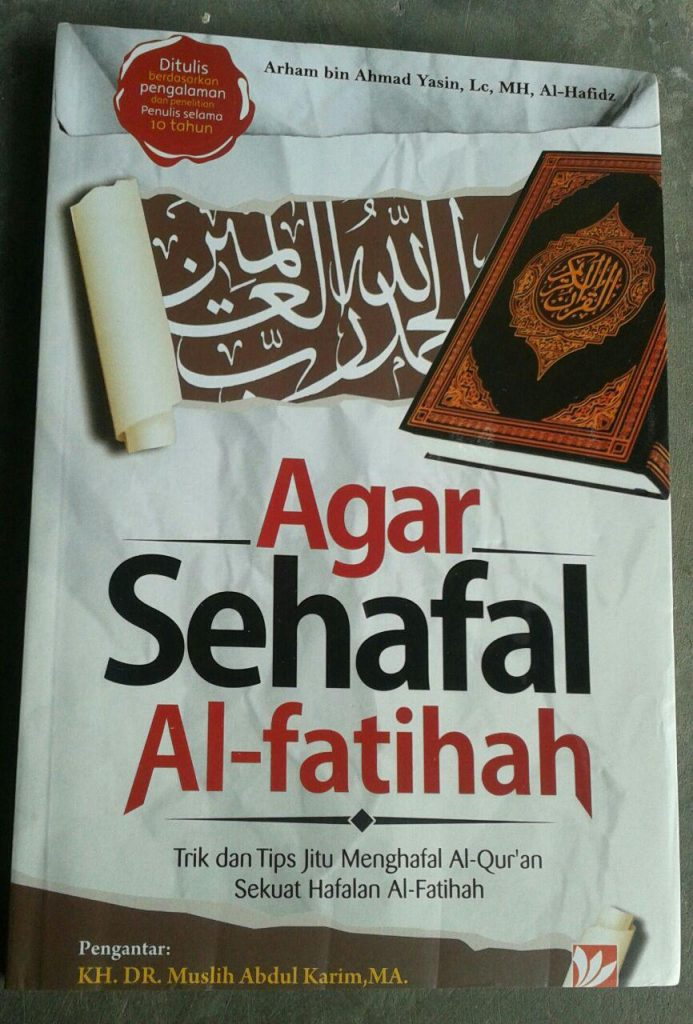 Buku Agar Sehafal Al-Fatihah cover