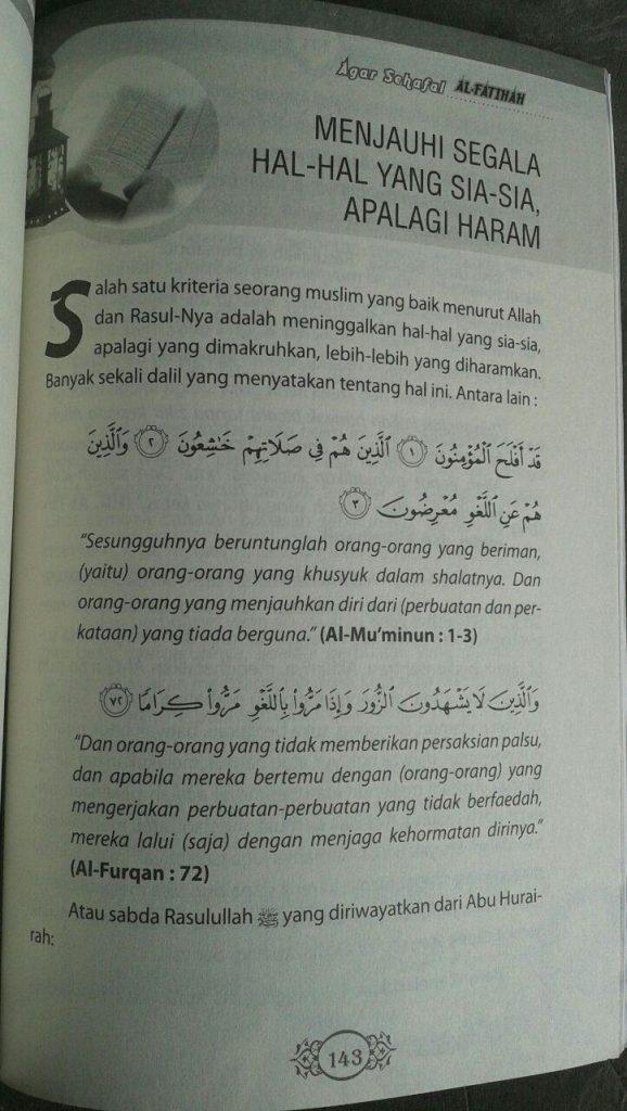 Buku Agar Sehafal Al-Fatihah isi 2