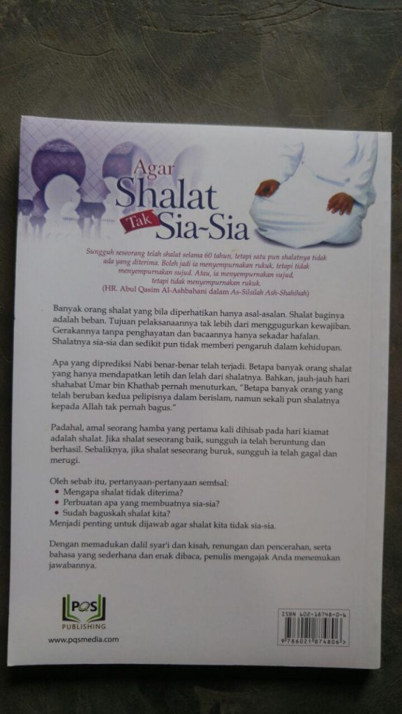 Buku Agar Shalat Tak Sia-Sia cover 2