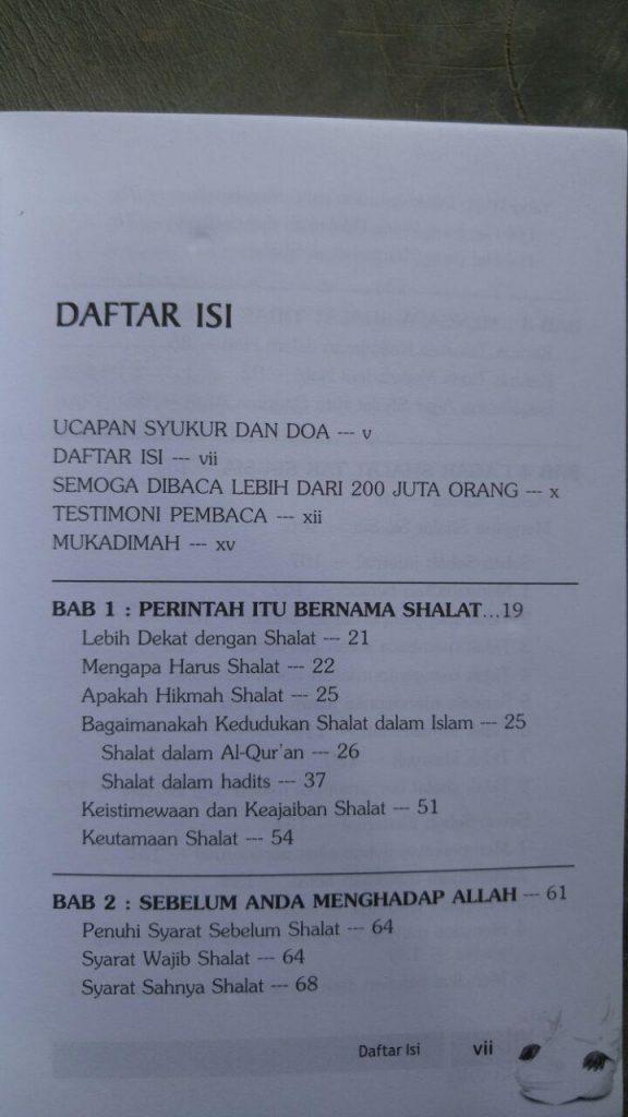 Buku Agar Shalat Tak Sia-Sia isi