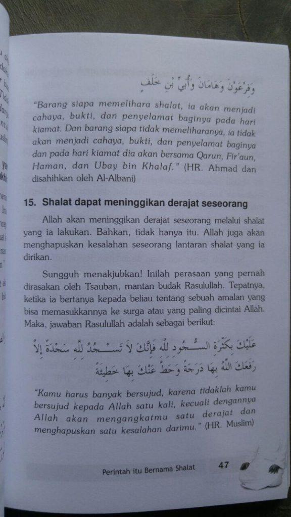 Buku Agar Shalat Tak Sia-Sia isi 2