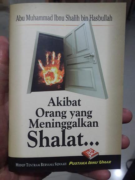 Buku Saku Akibat Orang Yang Meninggalkan Shalat Cover