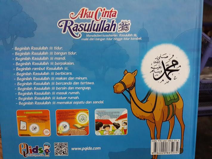 Buku Anak Aku Cinta Rasulullah Cover 2