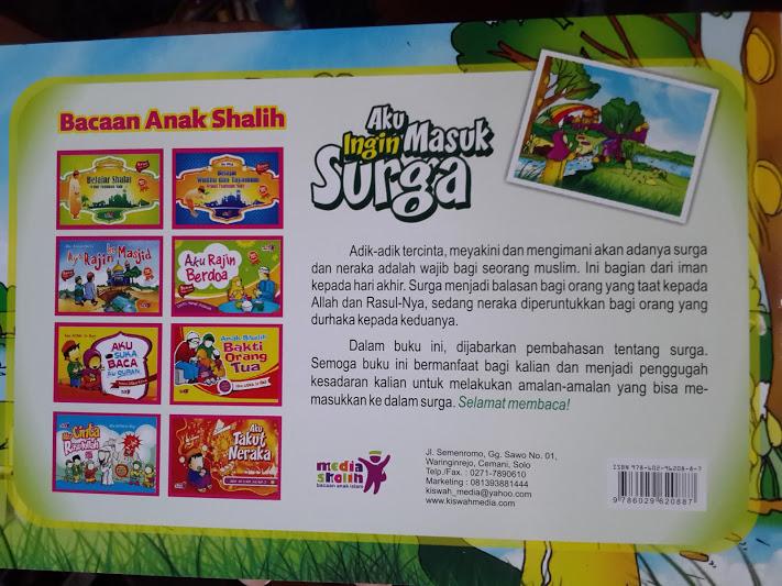Buku Anak Aku Ingin Masuk Surga Cover 2