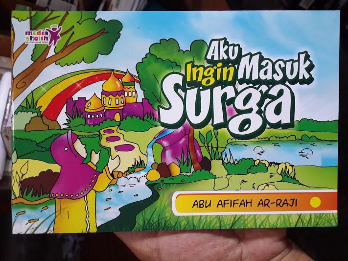 Buku Anak Aku Ingin Masuk Surga Cover