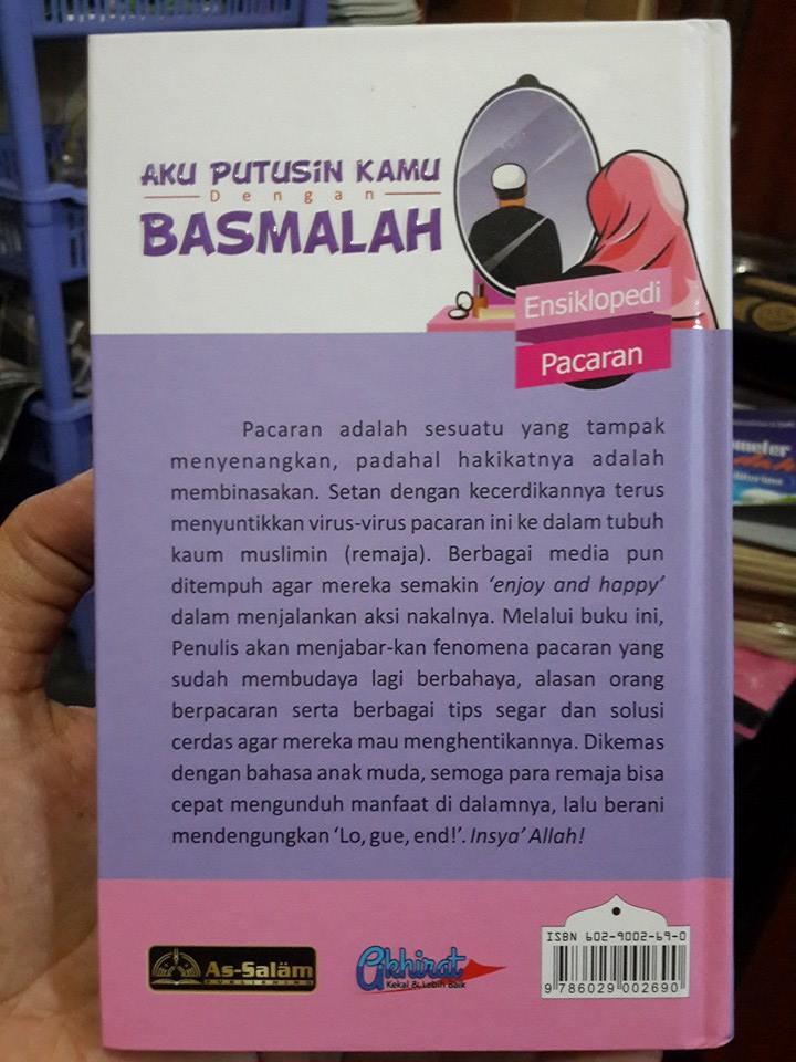 Buku Aku Putusin Kamu Dengan Basmalah Cover 2